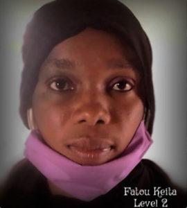 Nursery Level 2, Frau Fatou Keita